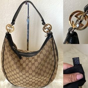 Authentic Gucci hobo style bag